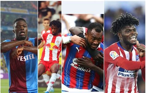 VIDEO: Goals scored by Ghanaian Players Abroad for the ...