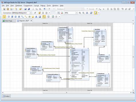 diagram tool  sql server