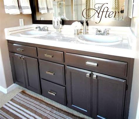 bathroom cabinet paint color ideas budget bathroom makeover linky centsational