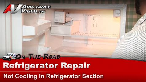 refrigerator repair not cooling repair diagnostic whirlpool kenmore kitchenaid roper