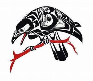 Native American raven design | Ravens and crows ...