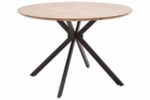 Table Ronde Pas Cher : table ronde design pas cher bois m tal pour salle manger ~ Melissatoandfro.com Idées de Décoration