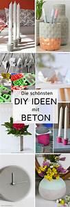 Beton Deko Ideen : die sch nsten diy ideen mit beton deko geschenke und interieur aus beton basteln mehr dazu ~ Heinz-duthel.com Haus und Dekorationen