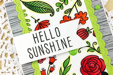 life fusion card challenge  sunshine