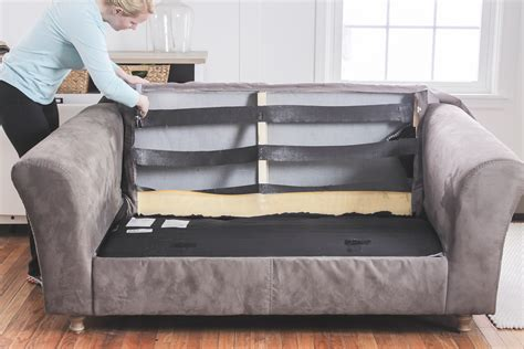 How To Fix A Sagging Springs by How To Fix A Sagging Restore Cushions Comfort Works