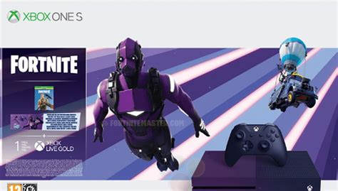 limited edition xbox one s includes exclusive fortnite vertex set fortnite intel