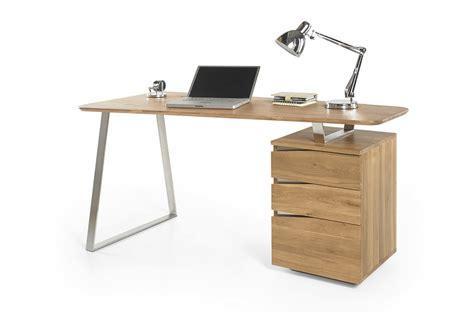 bureau en bois bureau d 39 ordinateur en bois massif novomeuble