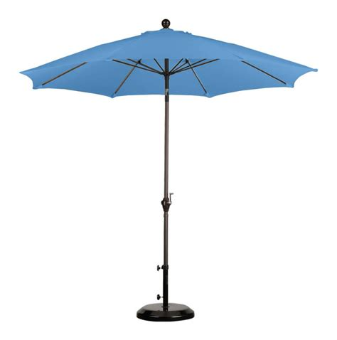patio umbrella w push tilt mechanism
