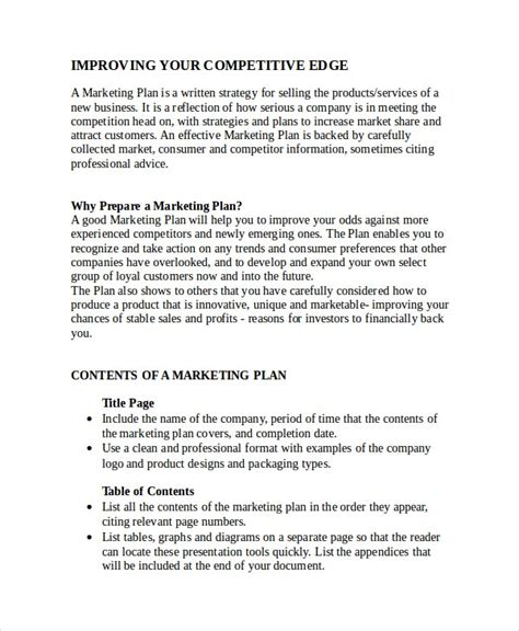 advertising plan template   word excel
