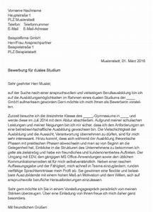 Duales Studium Handel : bewerbungsschreiben duales studium ~ Watch28wear.com Haus und Dekorationen