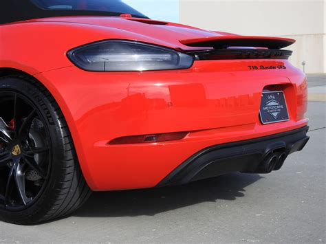 Used 2020 porsche 718 cayman gt4 with rwd, power package, sound package plus, navigation system, dvd, keyless entry, spoiler, leather seats, heated seats, 20 inch wheels, and bose sound system. 2018 Porsche 718 Boxster GTS Stock # JS228887 for sale near Jackson, MS | MS Porsche Dealer