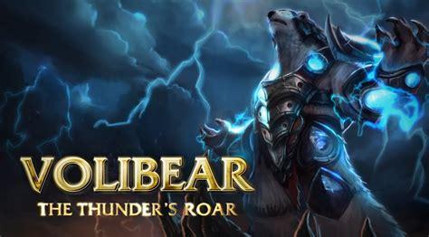 volibear champion spotlight gameplay league  legends youtube
