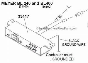 Controller For Meyer Baseline 240 And 400  Bl240 And Bl400