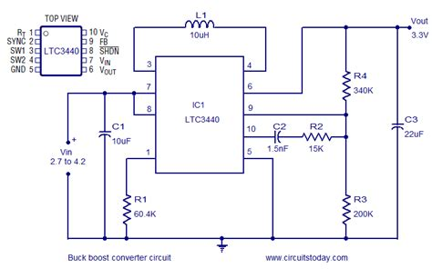 Buck Boost Converter Using Ltc For Output Voltage