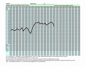 Basal Body Temperature Chart Bbt A Guide For Women On
