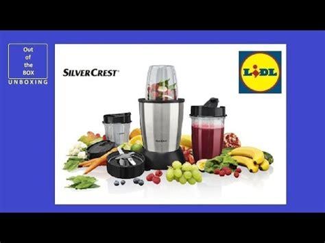 silvercrest küchenmaschine test lidl blender nutrition mixer 700w silver crest test