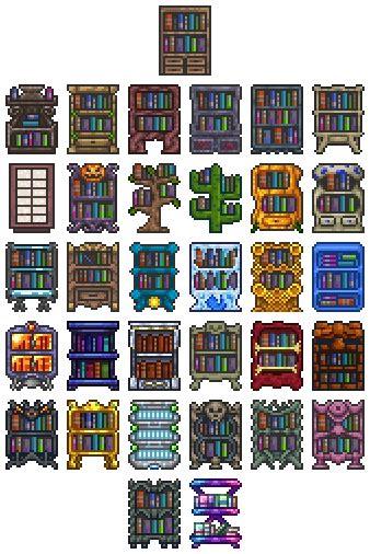 Terraria Bookcase bookcase official terraria wiki