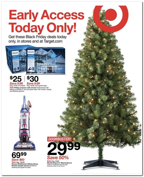 best black friday christmas tree deals target black friday 2017 ad find the best target black friday deals nerdwallet