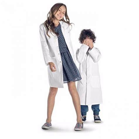 Hospital White Medical Lab Coats , European Size Poly ...