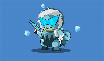 Pokemon Squirtle 4k Minimal Character Anime Wallpapers