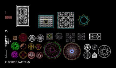 Patterns all in AutoCAD   Download CAD free (2.88 MB