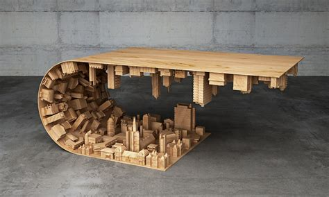 Inceptioninspired Coffee Table  Cool Material