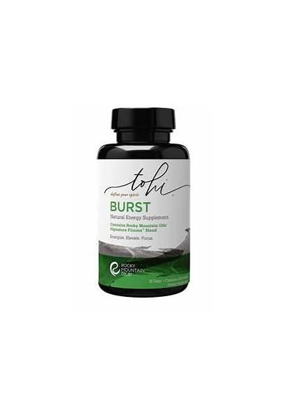 Energy Supplement Burst Natural Tohi Supplements Enhance