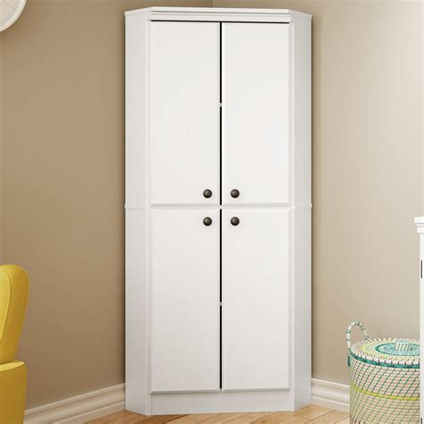 White Storage Closet Wardrobe by White Wardrobe Armoire Storage Closet Wood Clothes Cabinet