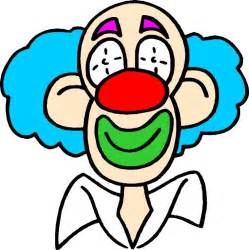 Clown Face Clip Art