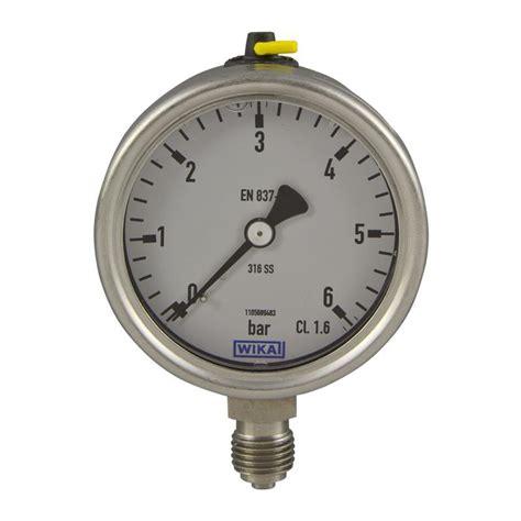 wika pressure ranges pressure wika 233 50 9020756 automation24