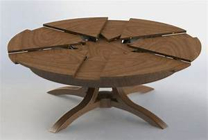 Table Ronde Extensible Design : la table ronde extensible id es pratiques pour votre ameublement western ~ Teatrodelosmanantiales.com Idées de Décoration