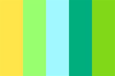 blue green color palette blue green yellow color palette