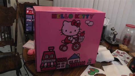 Hello Kitty Computer Build - YouTube