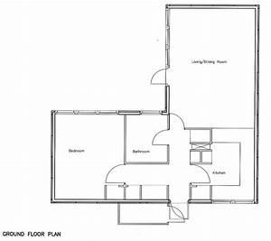 open floor plans 1 bedroom 1 bedroom bungalow floor plans With 1 bedroom house plans designs