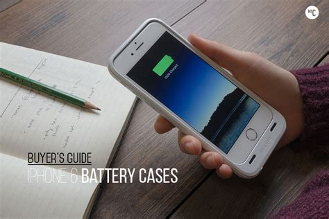 best iphone battery rapid recharge the 6 best iphone 6 battery cases