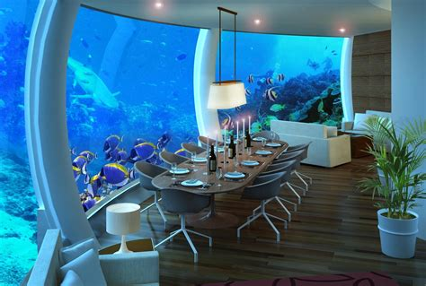 4 amazing underwater hotels you need to stay in luggage only travel food