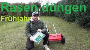 Frisch Gesäten Rasen Düngen : rasen d ngen im fr hjahr rasen nach nachsaat d ngen youtube ~ Watch28wear.com Haus und Dekorationen