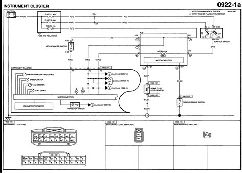 Wiring Diagram For 2007 Mazda 3 by I Lost The Function Of The Speedometer And The Power