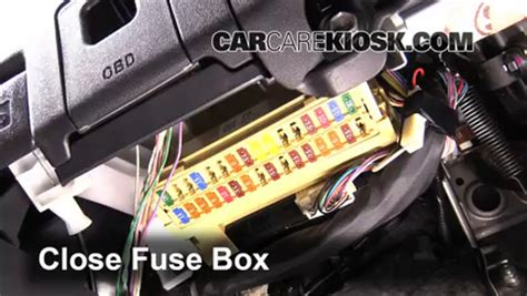 interior fuse box location 2011 2016 scion tc 2012
