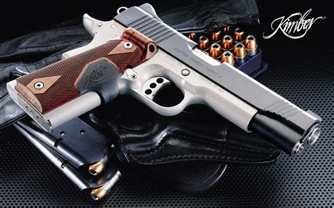 kimber pistol hd wallpapers background images