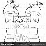 Clipart Bouncy Illustration Visekart Royalty Rf sketch template