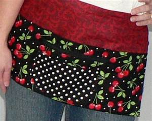 Carnival Bloom Utility Waist Apron With Pockets For Vendor