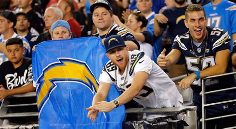Chargers Fans Turn Out To Support New Stadium