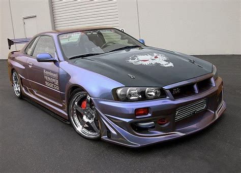 nissan skyline top of the range tuned version sports cars