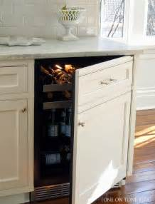 Kitchen Cabinet with Beverage Fridge