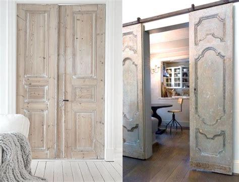 15 Inspirations Pour Recycler Une Porte Ancienne  Joli Place
