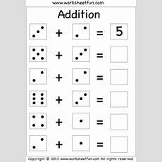 Domino Addition  Free Printable Worksheets Worksheetfun