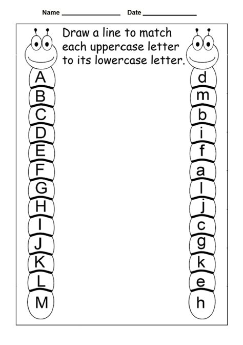 lowercase letter worksheets  printable