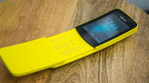 nokia 8110 4g review you can pre order the matrix phone now expert reviews