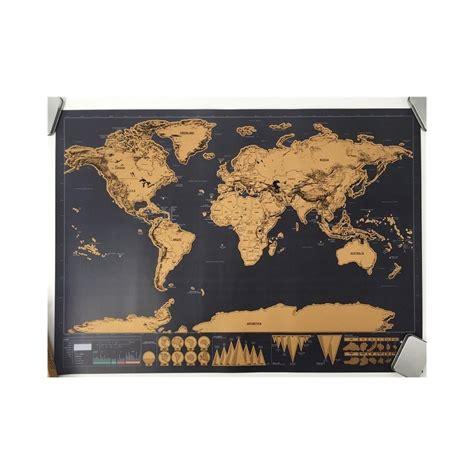 Pasaules orientieris tiek izdzēsts 82x59cm dovana labas ...